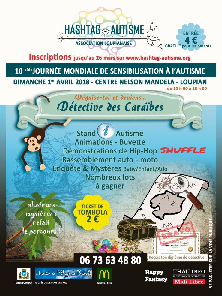 Journée mondiale de sensibilisation à l'autisme - Loupian